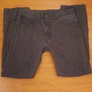 Gray Levi's 505 Size 36 x 34 (0)
